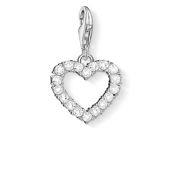 Romantischer Liebesbeweis sabo charm charms charm anhänger zirkonia herz shopping