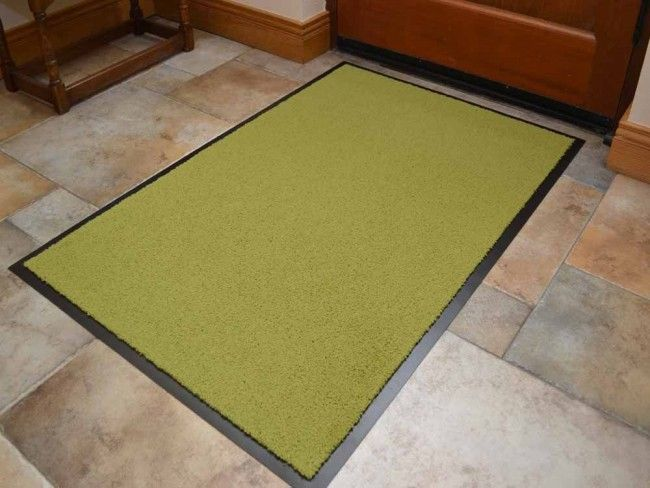 Lime Green Dirt Trapping Mat Lime Green Green Rooms Mats