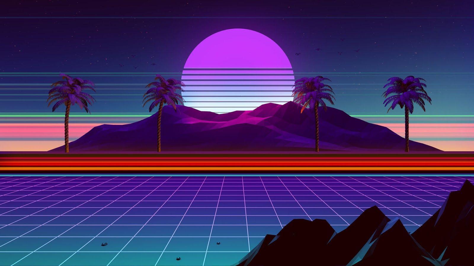 2020 Design Trends Merge Creativity With Tech 123rf Vaporwave Wallpaper Retrowave Wallpaper Desktop Wallpaper Art