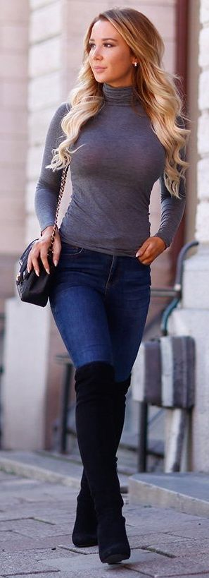 https://www.pinterest.com/myfashionintere/ Great Fall Outfit