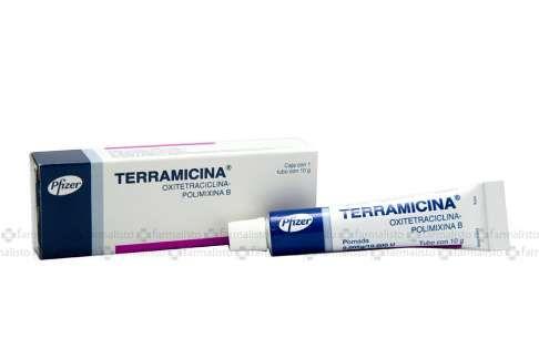 Terramicina oftalmica crema para que sirve
