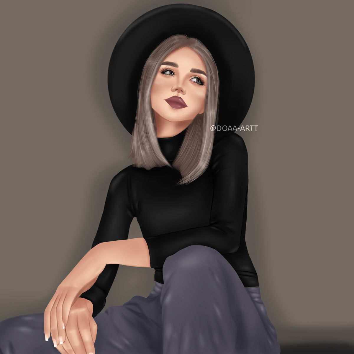 Pin By رسامه On رسم Instagram Artist Style Fashion