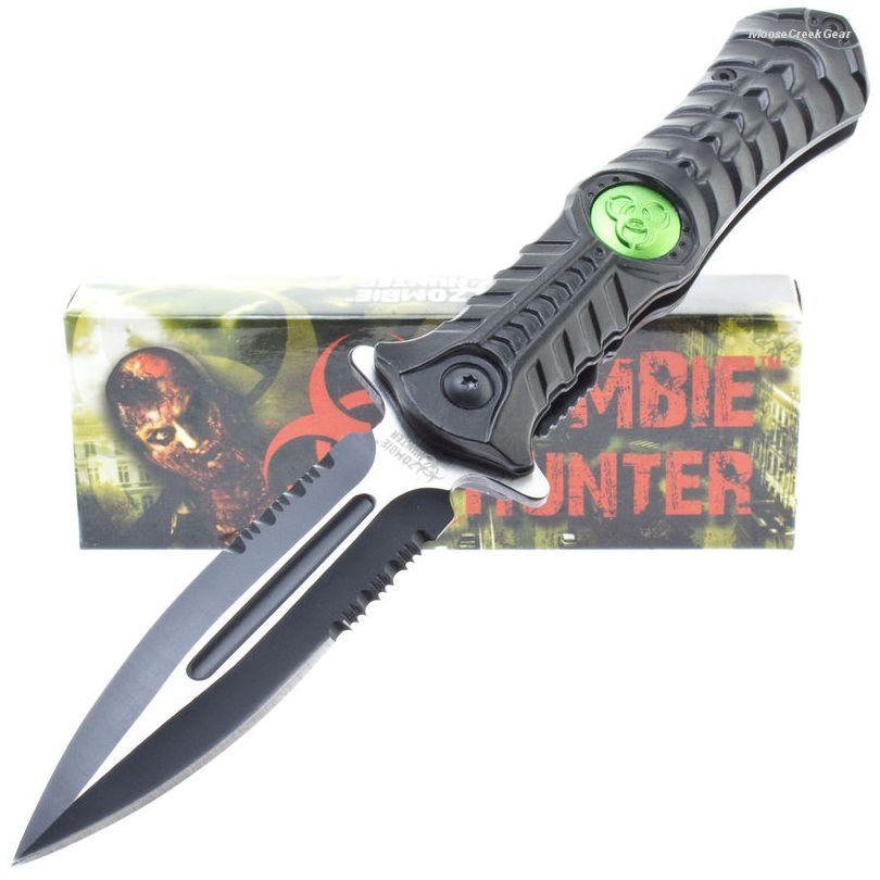 Z Hunter Zb 003bk A O Linerlock Pocket Dagger Style Knife