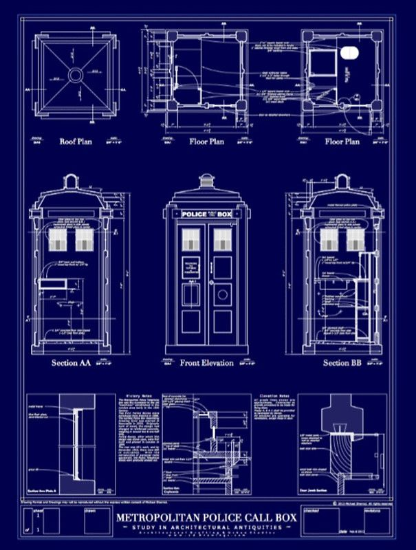 Doctor who TARDIS design