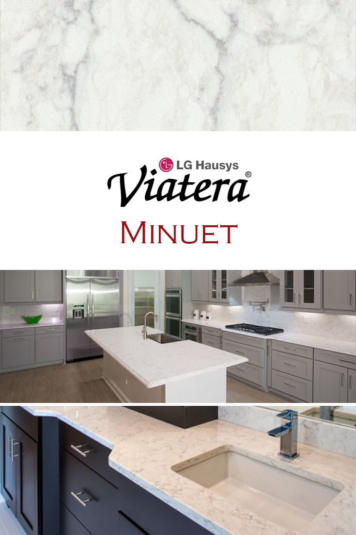Minuet by LG Viatera is perfect for a kitchen quartz countertop ...