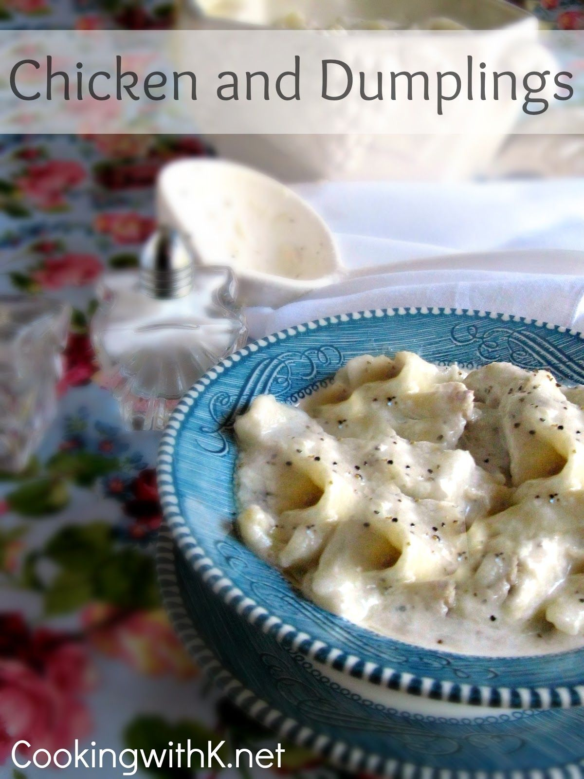 Aunt Max\'s Old Fashioned Homemade Chicken and Dumplings + The secret ...