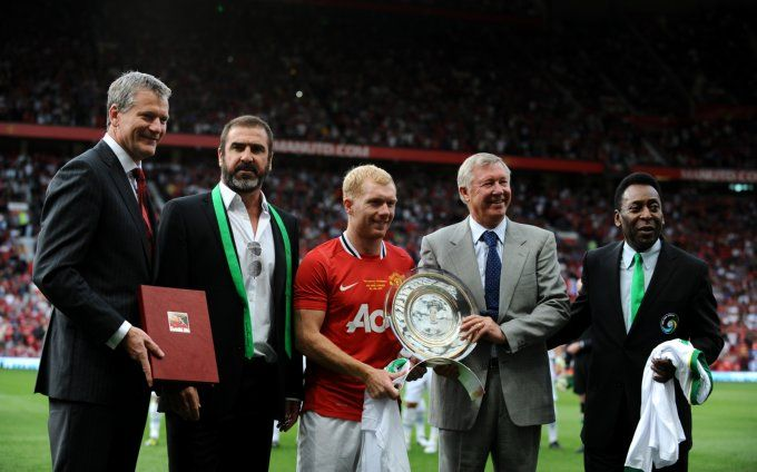 12df4bfd2f7 Soccer - Paul Scholes Testimonial - Manchester United v New York Cosmos -  Old Trafford