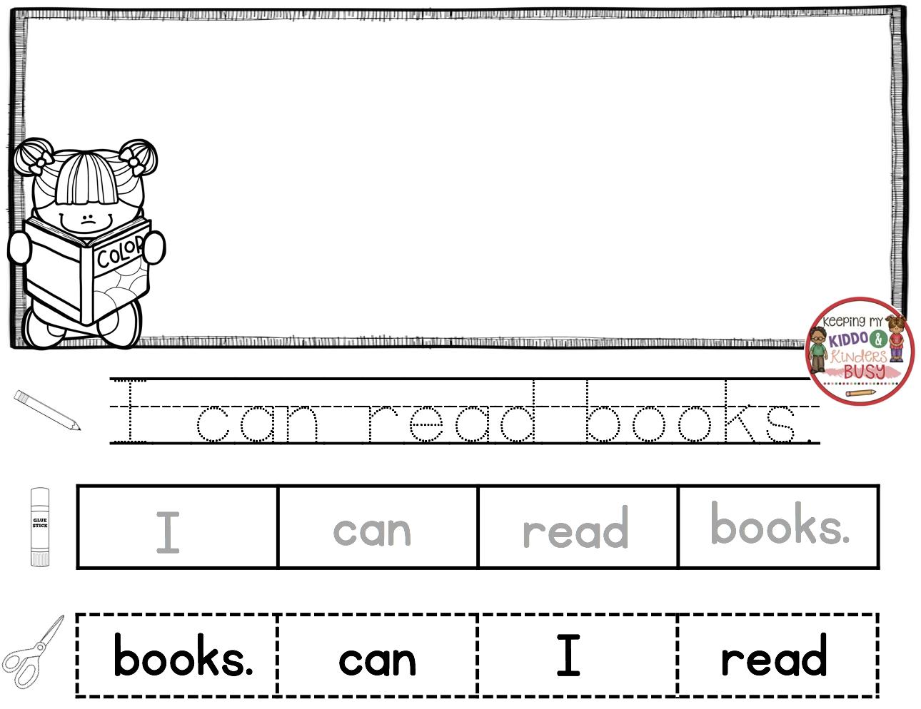 Reading And Writing Back To School In Kindergarten Free Week Keeping My Kiddo Busy Writing Printables Writing Kindergarten Reading [ 994 x 1290 Pixel ]