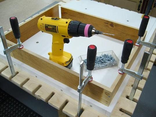Shopmade Clamp & Assembly Worktable - bricofleur - American Woodworker