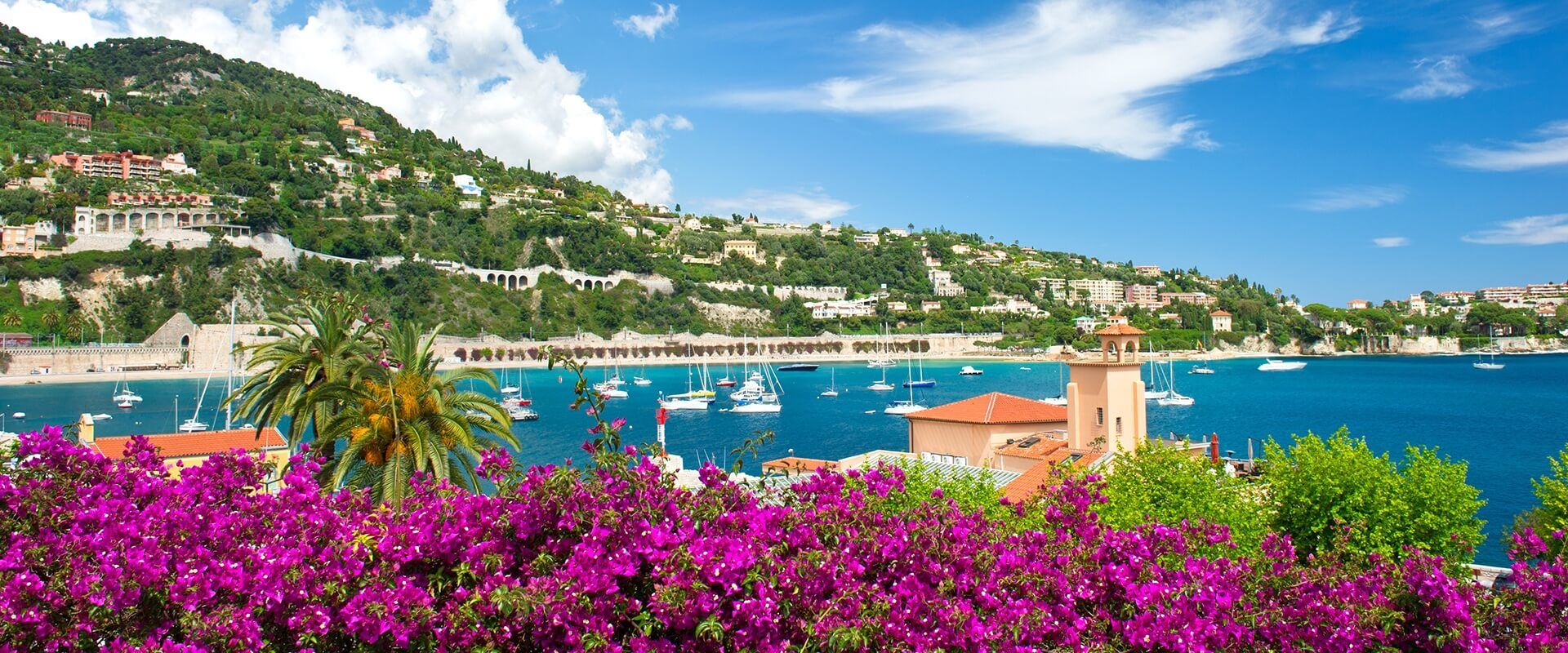 Coastal Tour , departure from Nice - from the Cape of Nice to Villefranche Bay- Trans Côte d'Azur - Maritime Company