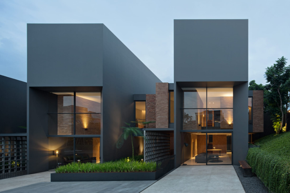 Kramat Jati House von Air Putih Studio em 2020 | Projetos ...