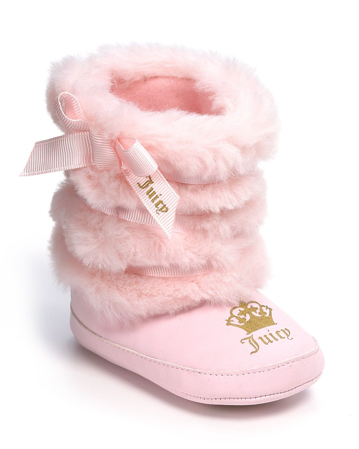 5ca6196338 Juicy Couture Infant Girls  Faux Fur Boots - Sizes 3-12 Months ...