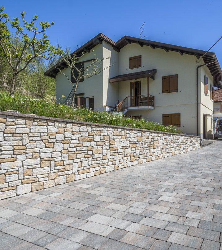 Betonella Farnese Burattato è Una Pavimentazione Per Esterni Che