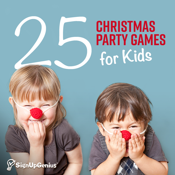 25 Christmas Party Game Ideas Part - 26: 25 Christmas Game Ideas To Entertain Little Ones At Your Holiday Party.