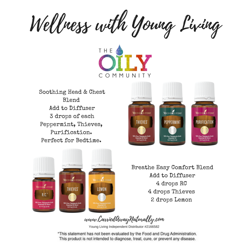 Wellness With Young Living Diffuse Soothing Head Amp Chest