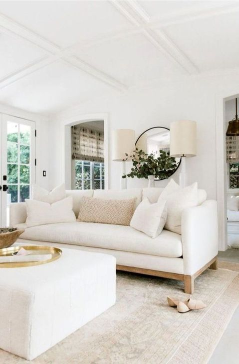 53 Lovely Neutral Decoration Ideas For Your Living Room Modern
