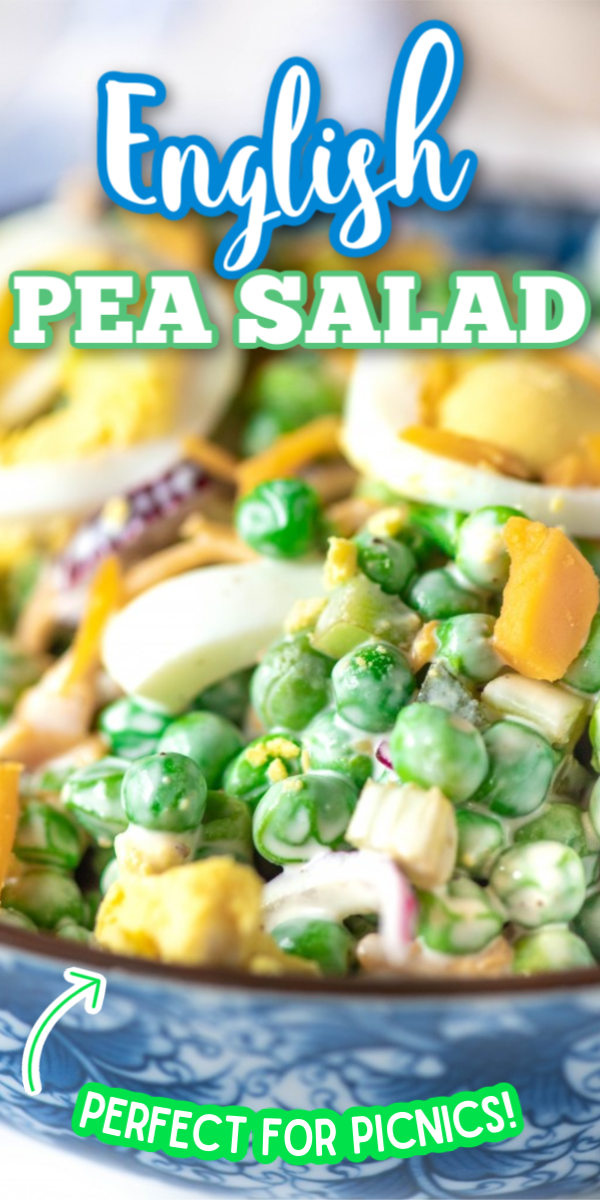Photo of Creamy, Easy Pea Salad Recipe – English Pea Salad