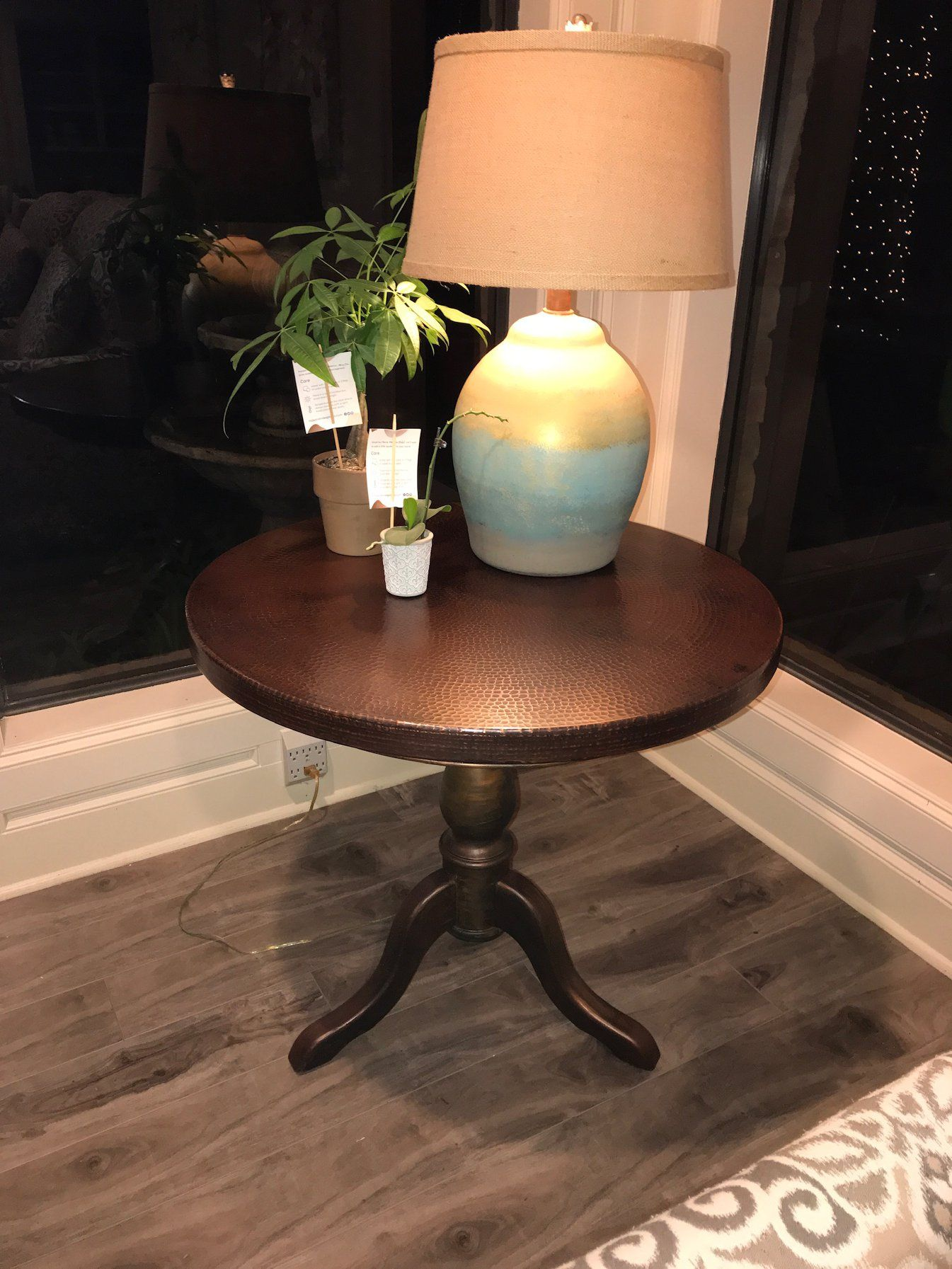 Copper table tops copper top table copper table table