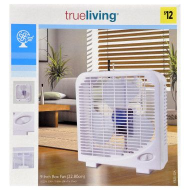 What are some popular box fan models?
