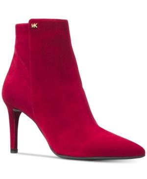 ce99c791087f Michael Michael Kors Dorothy Flex Booties - Red 8.5M