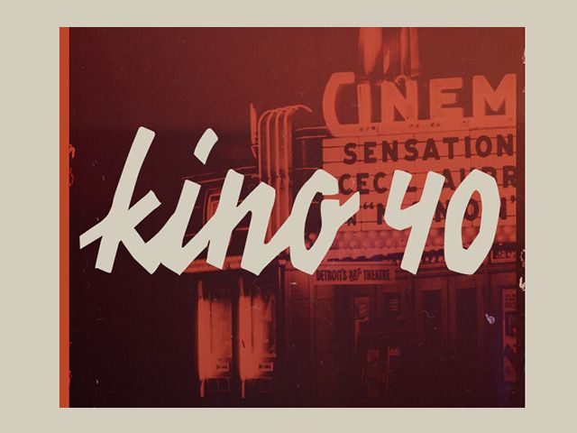 Kino 40 is a free font inspired to vintage movies handwritten typography. Designed and released by les83machines.