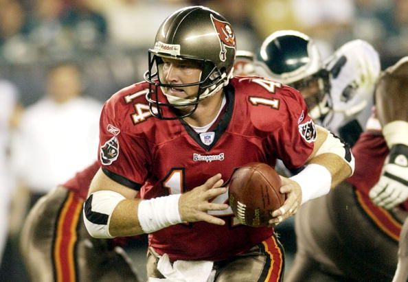 2002 Tampa Bay Bucs QB Brad Johnson