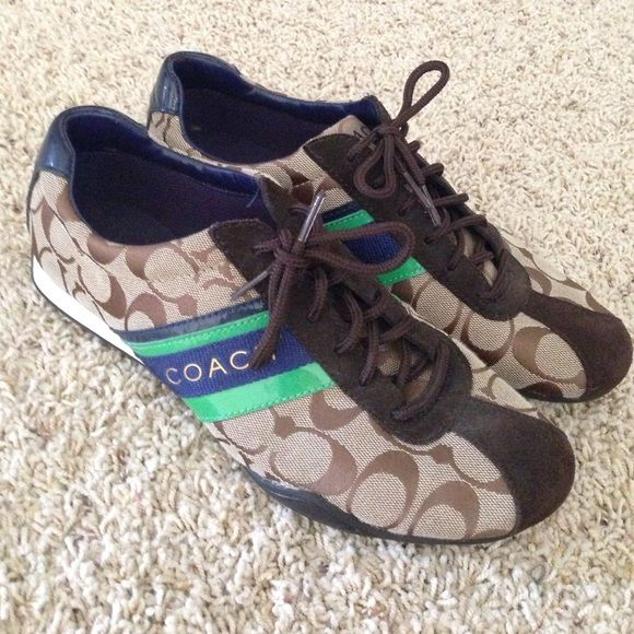 Coach Sneakers Gently work for a few weeks, look and feel brand new! Coach Shoes Sneakers
