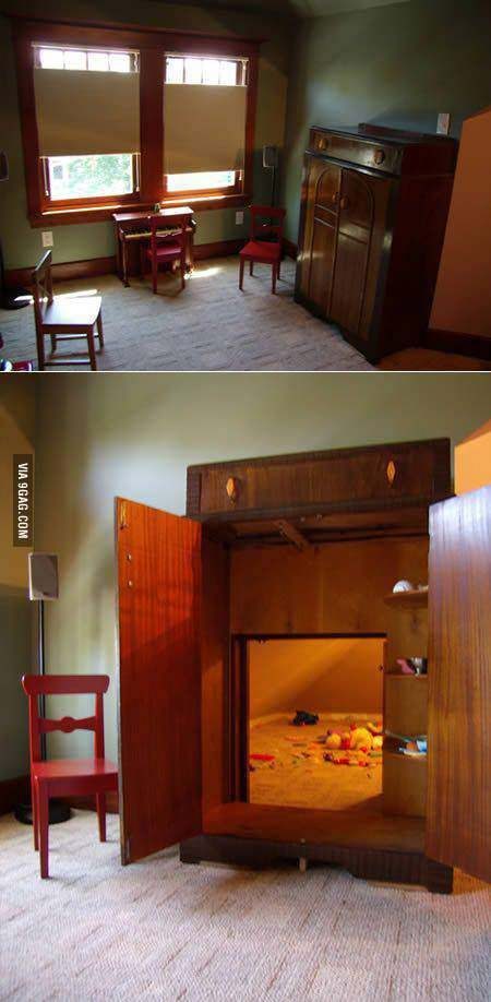 A room within a room!