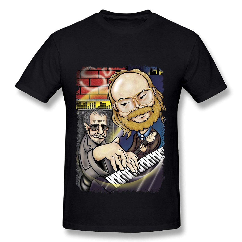 Good quality black t shirt - Mens Tattoos T Shirt Men 2017 Fashion High Quality Men Steely Dan Tour 2016 T Shirt