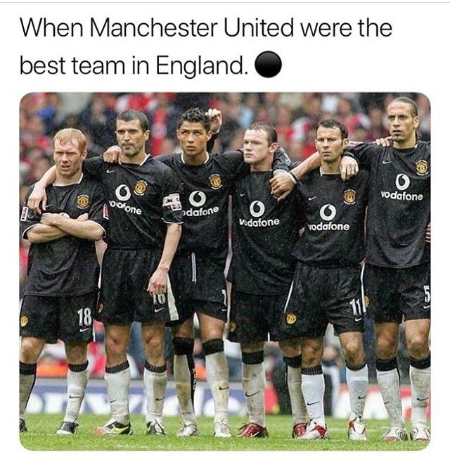Once Upon Time At Manchester United Football Memes David Beckham Manchester United Manchester United Soccer