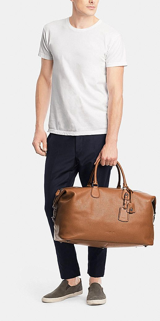 ac798284b Explorer bag 52 in pebble leather | The Male Mannequin. | Bags ...