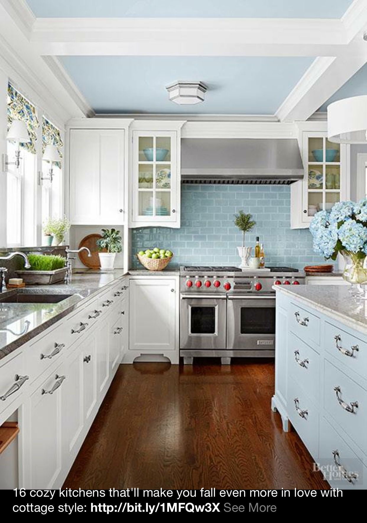 James And I Love This Cottage Kitchen Cabinets Cottage Kitchens Kitchen Design