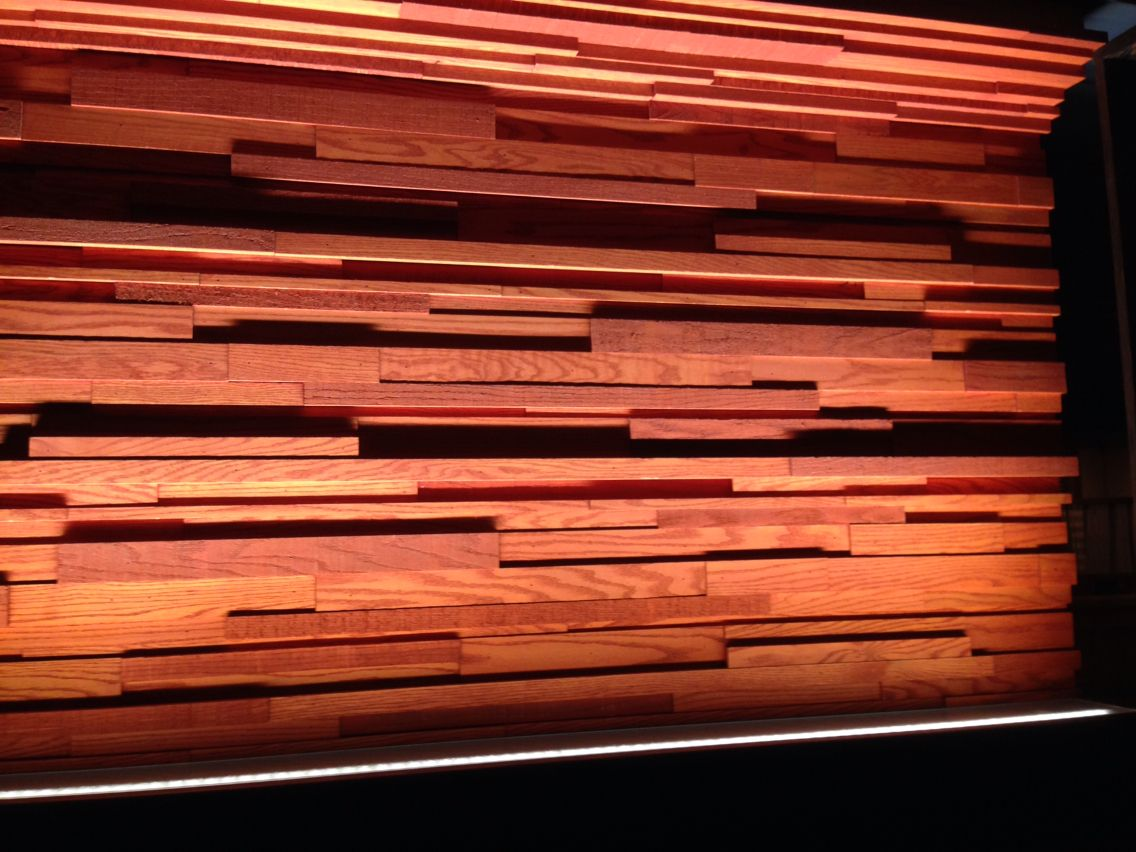 Stacked Wood Wall At Outback In Ict Wood Wood Wall Wall