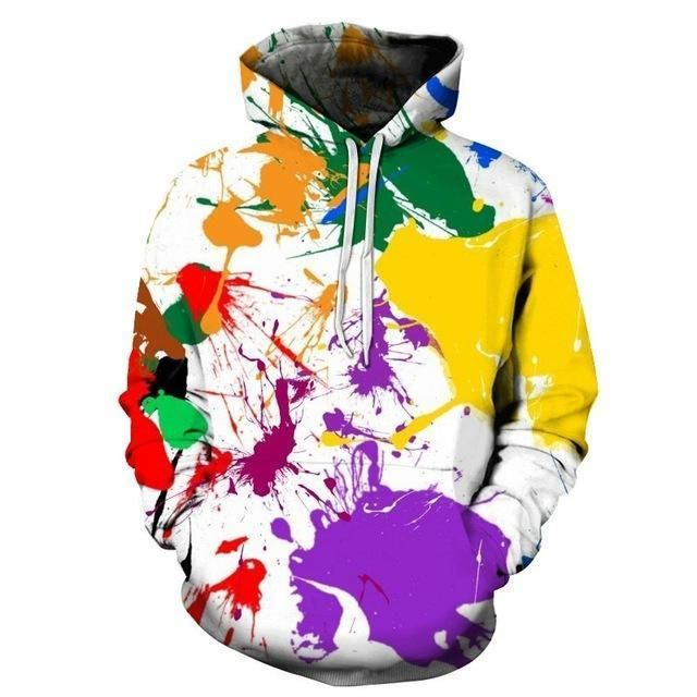 0436f9f1c5b8 TUNSECHY New Sweatshirts Men Brand Hoodies Men Joker 3D Printing Hoodie  Male Casual Tracksuits Size S