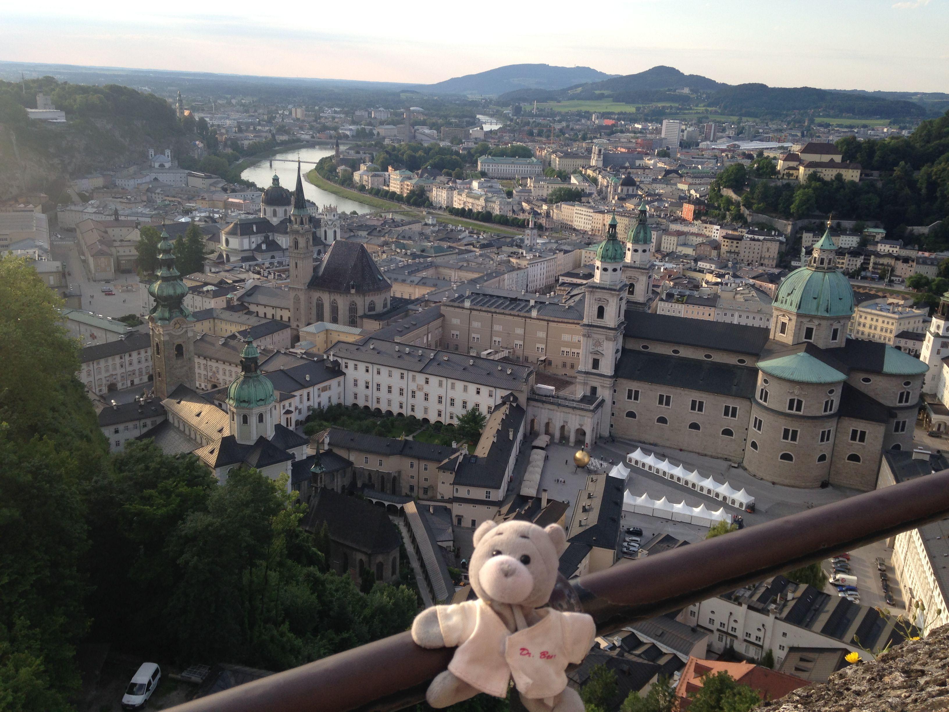 Wilkommen in Salzburg!
