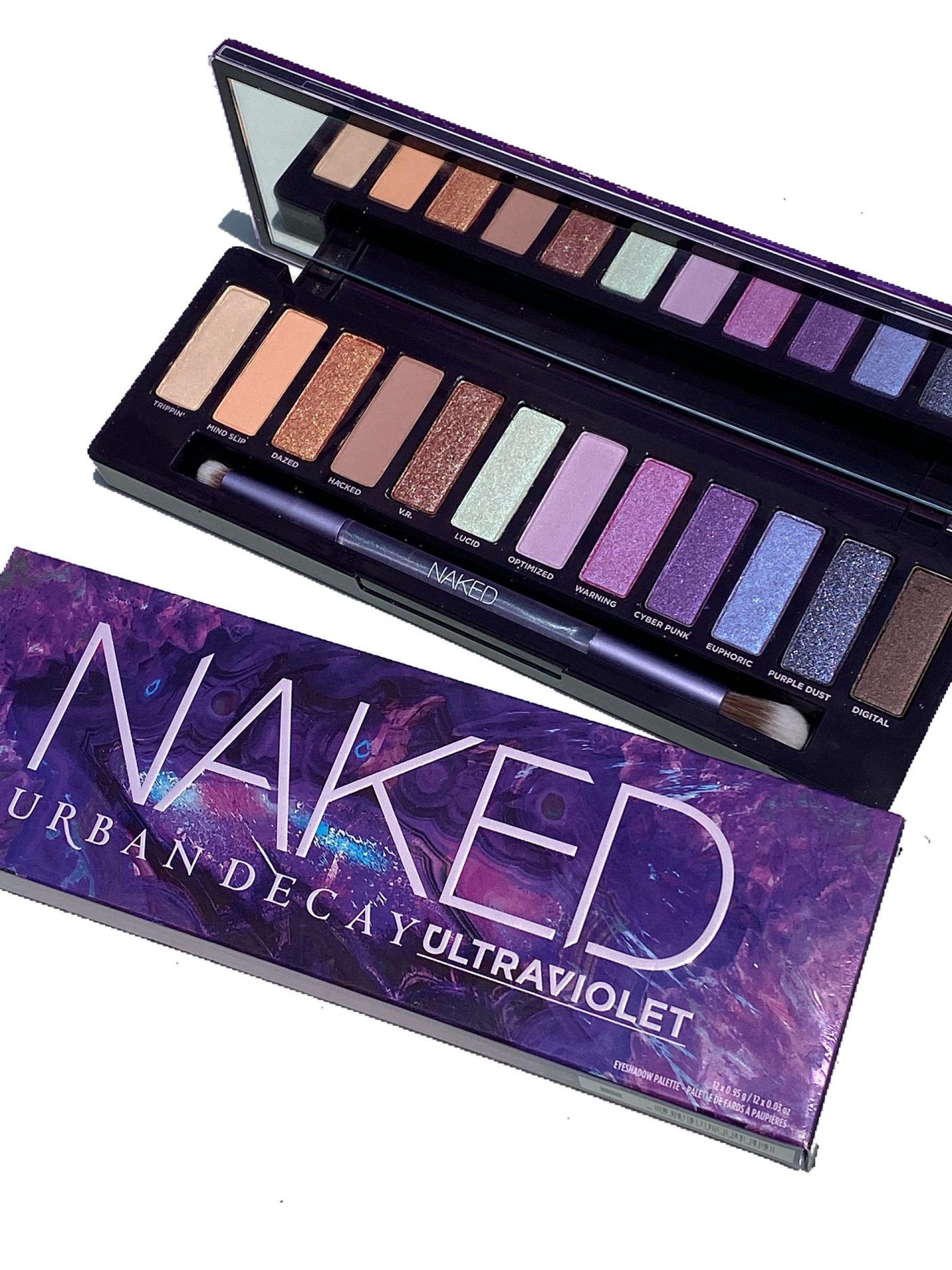 Urban Decay Naked Ultraviolet Palette Eyeshadow Photos & Swatches - Cali Beaute