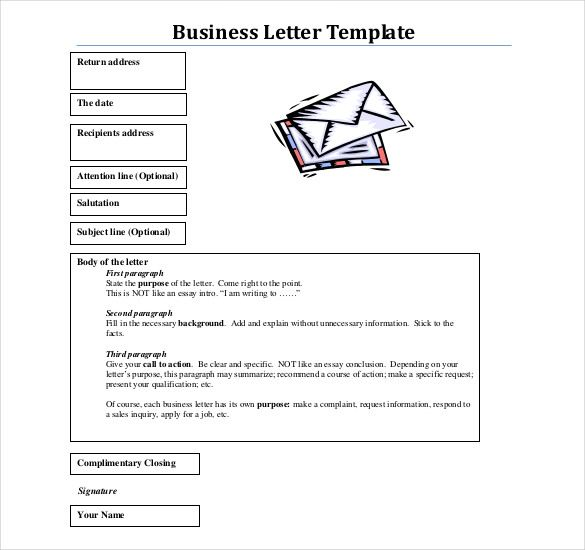 Formal Business Report Sample Format Business Letter Templates 1  Business Letter Format  The .