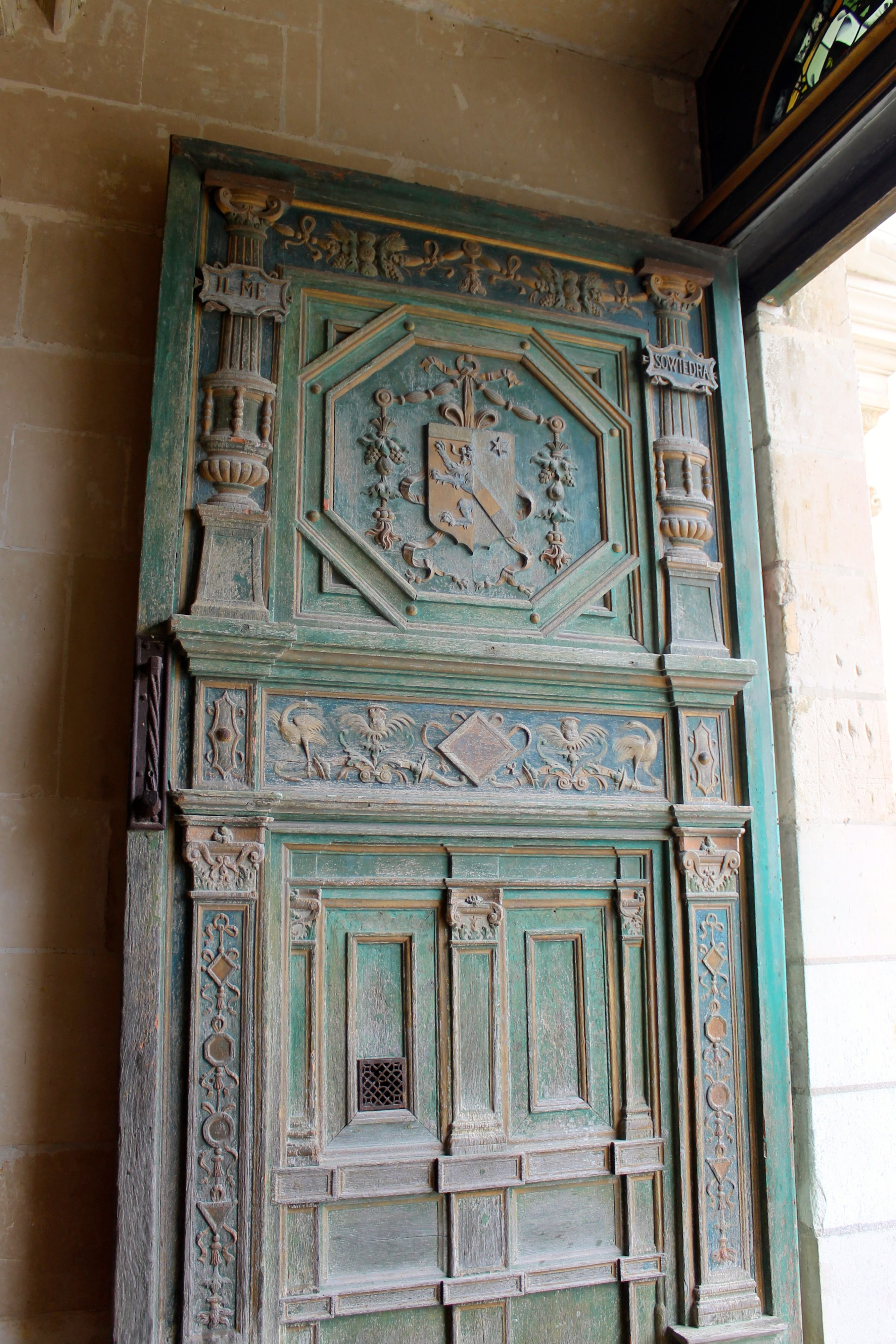 Doors of Chenonceau Kevin Carpenter 2013