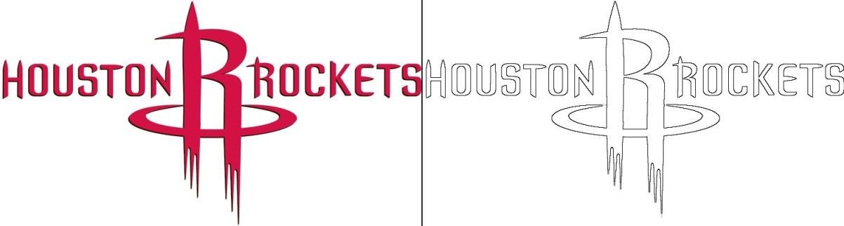 Rockets Logo Coloring Page Coloring Pages Rockets Logo Free Coloring Pages