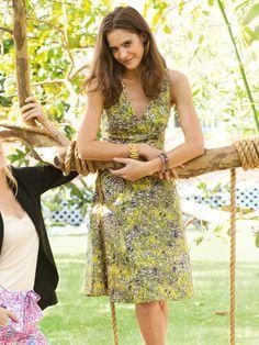 Sommerkleid - Taillienpasse Schwierigkeitsgrad: 2 leicht
