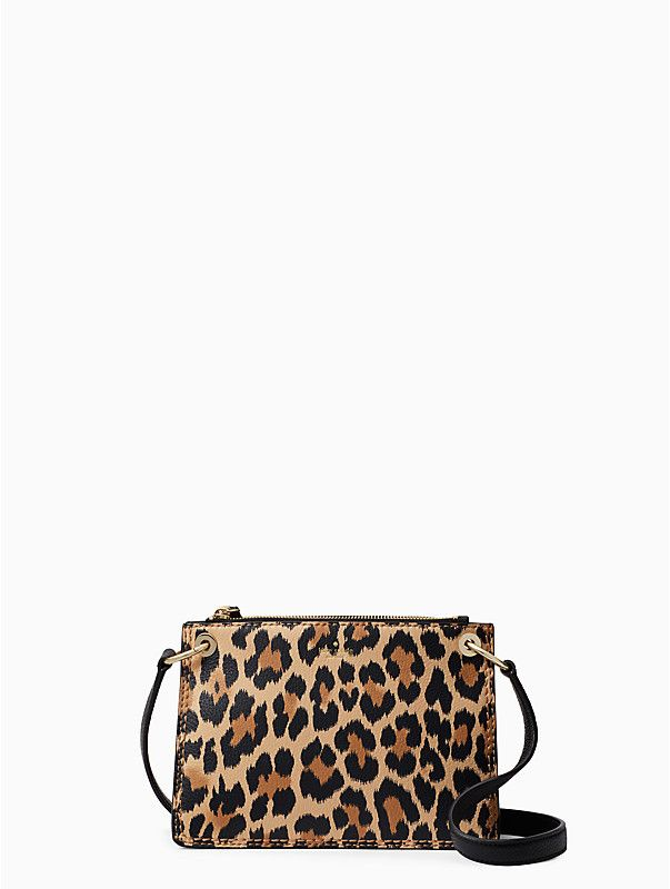 a08d832bd7e5 dunne lane leopard-print caro | Kate Spade New York Pebbled Leather,  Beautiful Bags