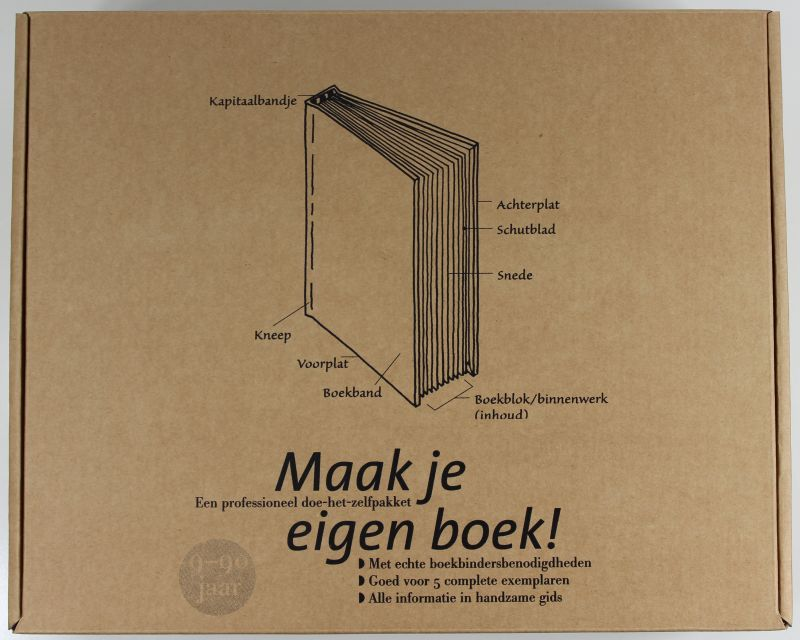 Maak je eigen boek!   Startpakket boekbinden http://.papierenzo
