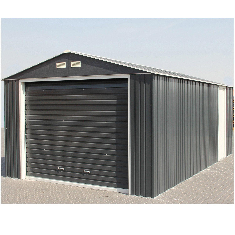 Garage Metal Duramax Porte Sectionnelle Duramax Toit En Metal Garage Metal Garage Pour Voiture