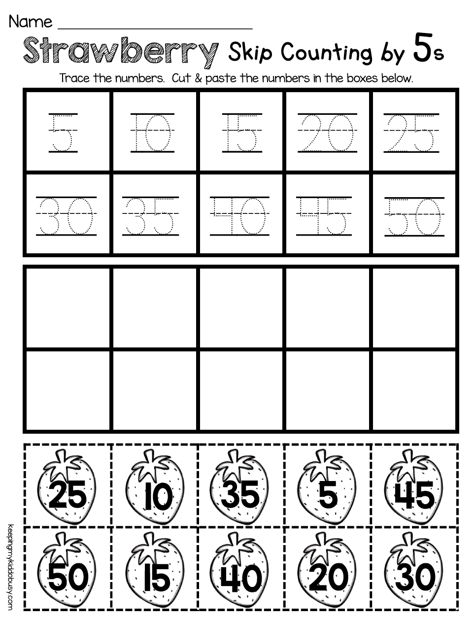 Kindergarten Counting By Fives Math And Reading Worksheets For Spring No Prep Activitie Counting Kindergarten Reading Worksheets Kindergarten Math Counting [ 1256 x 964 Pixel ]