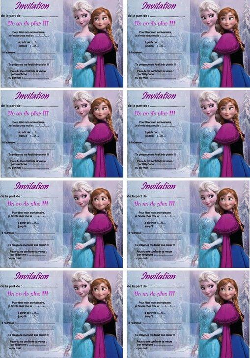 Coloriage carte anniversaire reine des neige anna et elsa invitation pinterest reine des - Reine des neige a imprimer ...