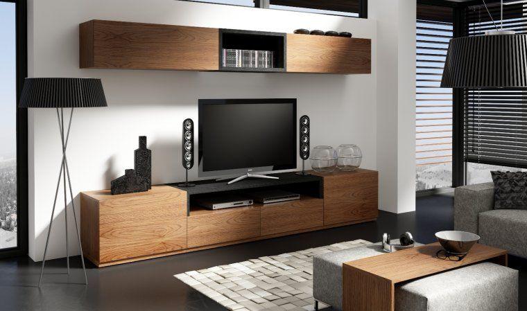 impressionnant meuble television moderne Deco Pinterest