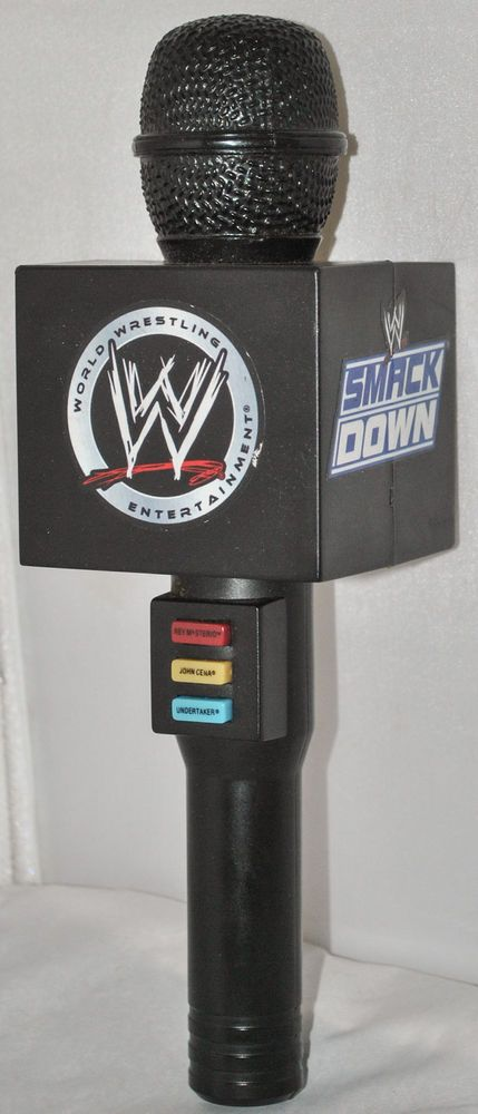 WWE Wrestling Smackdown Electronic Talking Voice Changer