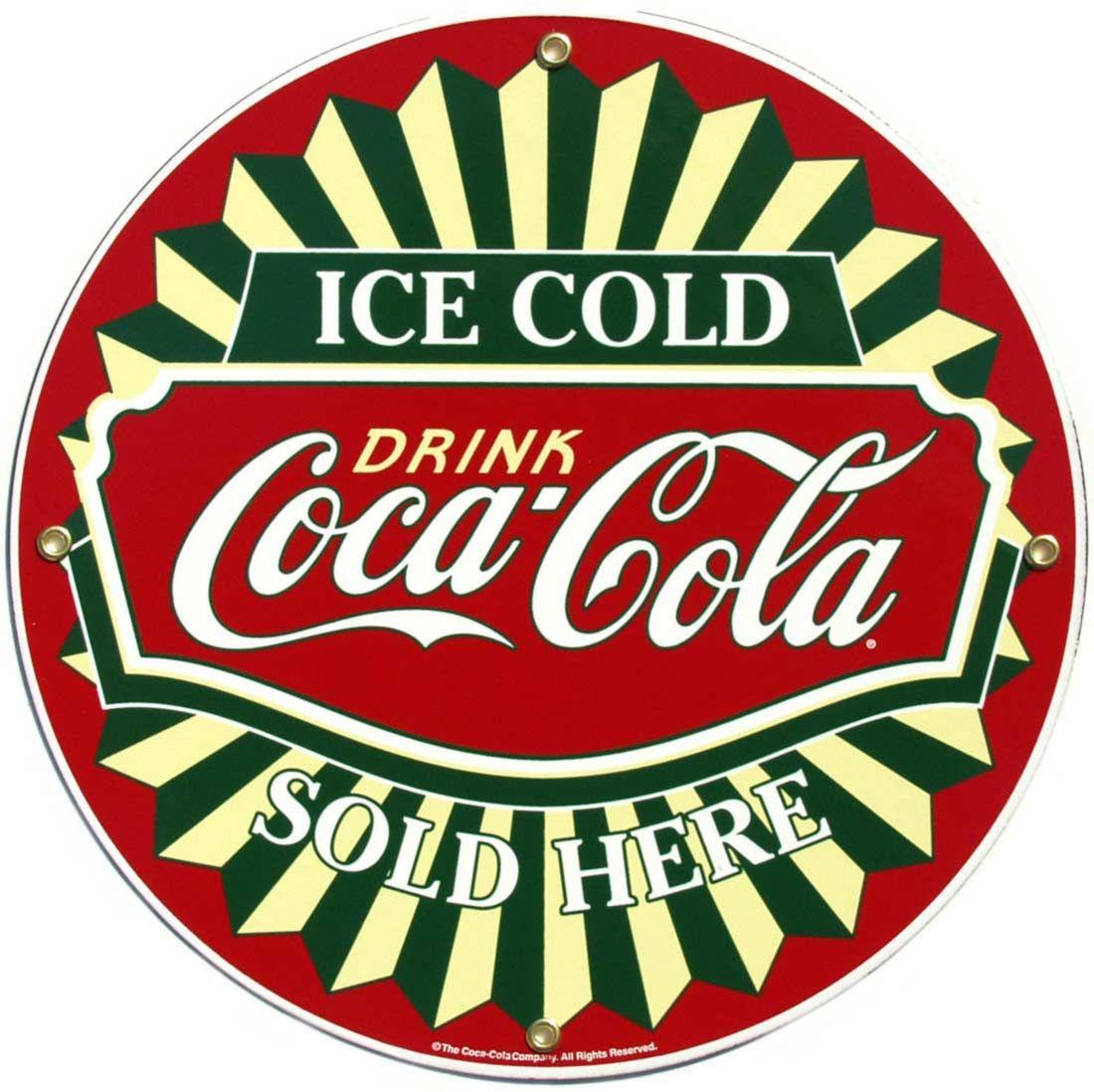 vintage coke logo images galleries with a bite. Black Bedroom Furniture Sets. Home Design Ideas