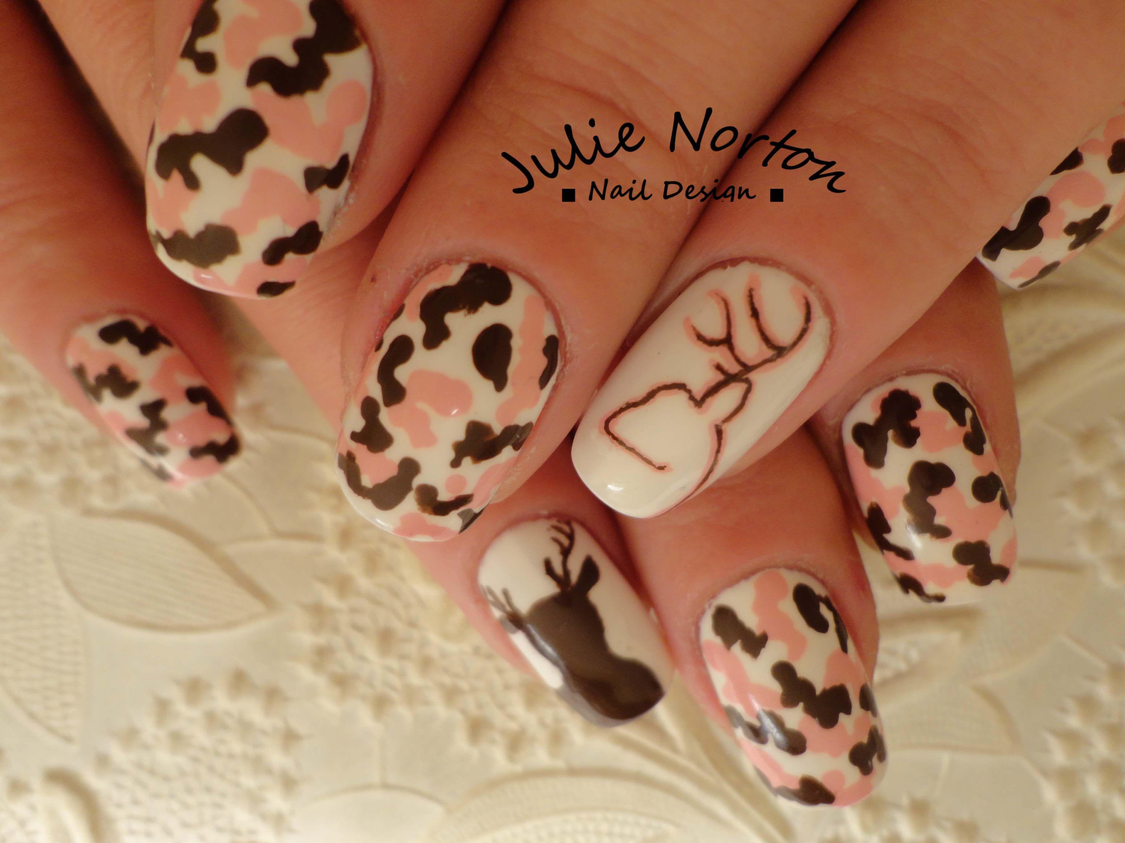 Pink Browning Camo Nails | Nail Art | Pinterest | Pink, Browning and ...