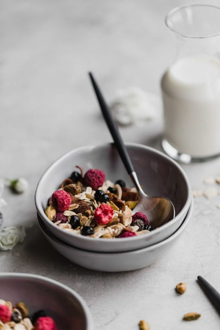 ... 10 minutes muesli ... #breakfast #fitness food clean eating #fitness food healthy #fitness food...